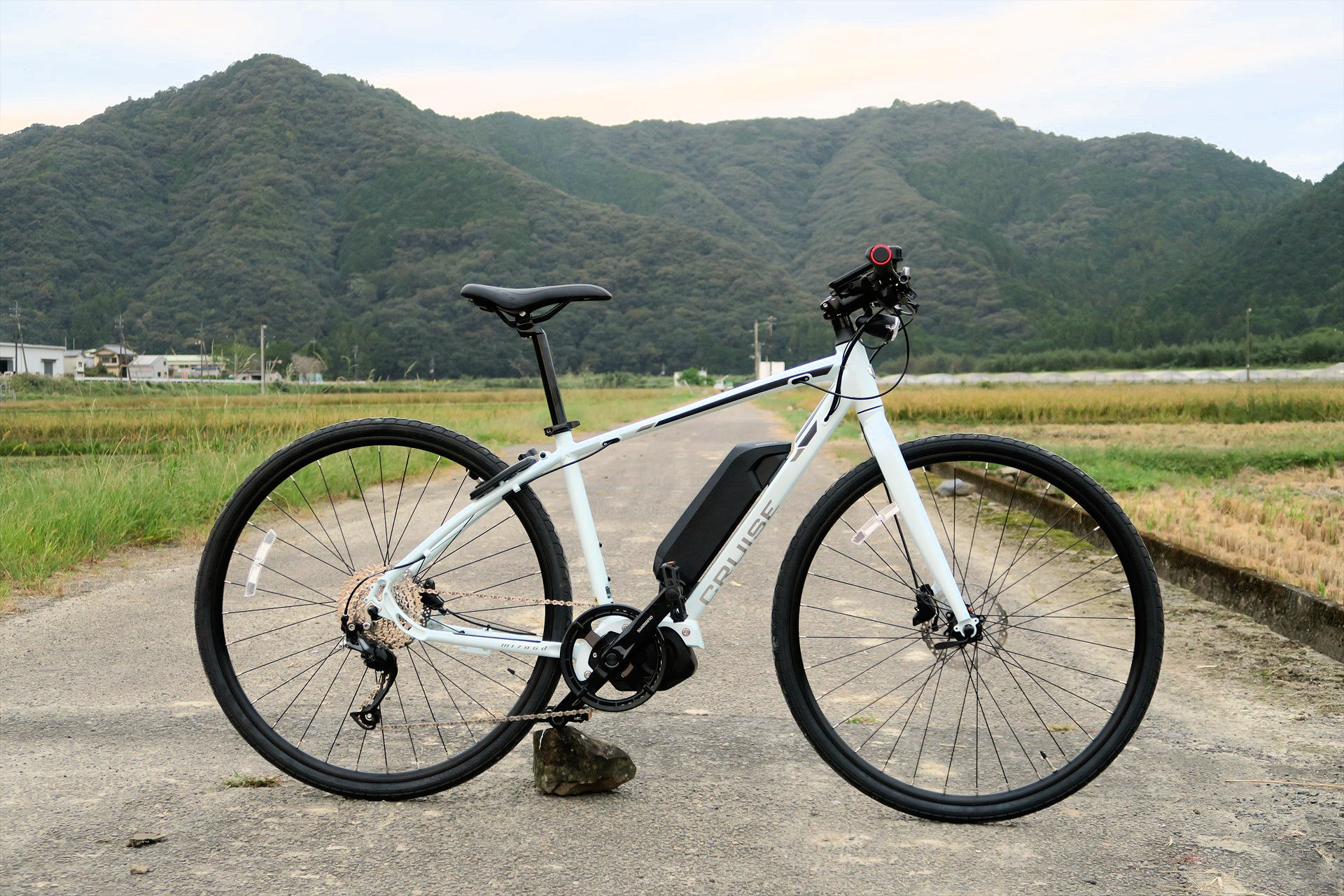 E-BIKEを導入しました。 E-BIKE is available!